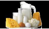 Молоко, сыры, яйца